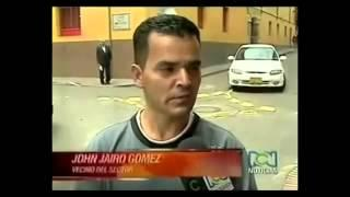 Κολομβία Κάμερα καναλιού καταγράφει φάντασμα σε δρόμο