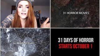 31 Days of Horror Preview
