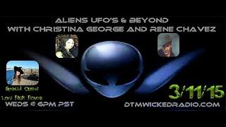 "Aliens, UFOs & Beyond - 3/11/15 ""Chilling UFO/Monster Encounters Of The Sierras"""