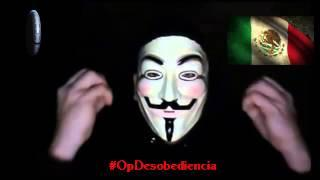 #Anonymous #OpDesobediencia