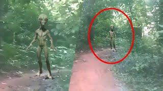Alien Or Ghost?? Unnatural Ghost Like Creature Caught On Camera