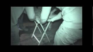 Oliver Cromwell's House ghost hunt, Ely table tilting