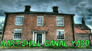 HBI HAUNTED BRITAIN INVESTIGATIONS -  RETURN TO HARTSHILL CANAL YARD   PARANORMAL INVESTIGATION