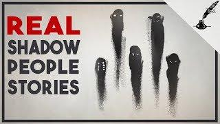 4 True Shadow Figure Stories Ft. Mortis Media | Real Paranormal Stories Series