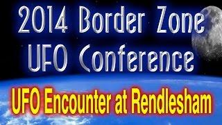 Nick Pope Pt 1 - UFO Encounter at Rendlesham - 2014 Border Zone UFO Conference