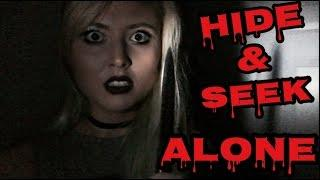 HIDE AND SEEK ALONE! | ROUND 2