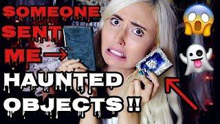 SOMEONE SENT ME HAUNTED OBJECTS!