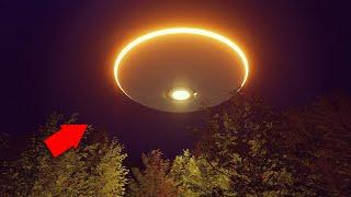 OMG!! Mass UFO Sighting With Aliens Caught On Tape!! Alien Sightings