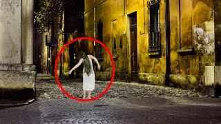 OMG!! Real Ghost Accidentally Caught On Camera From An Abandoned Building