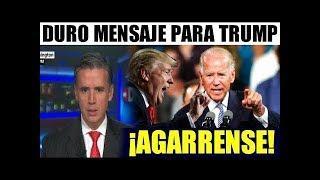 trump y EEUU, hoy DURO MENSAJE PARA TRUMP DE EXPRESIDENTE BIDEN noticias hoy 9 feb 2018
