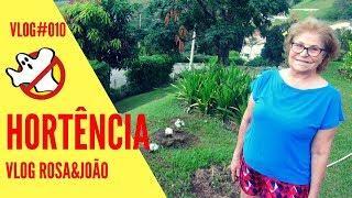 Hortência Vlog#010 Rosa&João - Caça Fantasmas Brasil