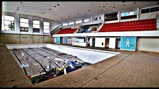 EXPLORING AN ABANDONED LEISURE CENTRE WITH SWIMMING POOL
