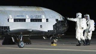 X-37B: Top Secret Space Plane Lands In California