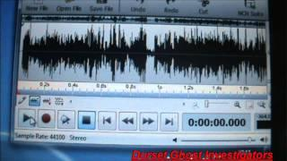 EVP CAUGHT ON TAPE USING THE GHOST BOX & SPIRIT BOX - REAL SCARY EVPS