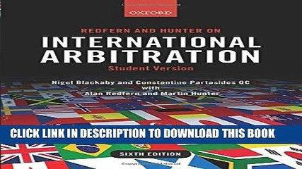 [PDF] Redfern and Hunter on International Arbitration [Full Ebook]