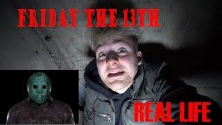 Friday the 13th Real Life ! Abandoned Crystal Lake Found Tunnels!