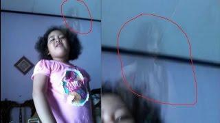 Ghost Behind 5-year-old Indonesian Girl