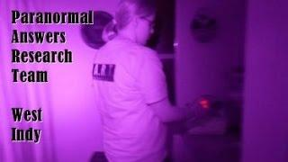 Paranormal Answers Research Team, West Indianapolis, November 15, 2014