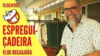 Espreguiçadeira Vlog#003 Rosa&João - Caça Fantasmas Brasil