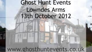 Lowndes Arms, Whaddon ghost hunt - Real ghost voice EVP
