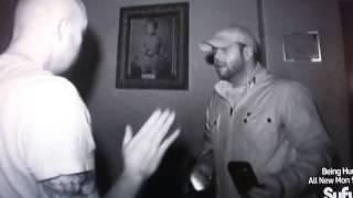 Jason and Steve from Ghost Hunters - Bug on Steve's Back 2/5/14