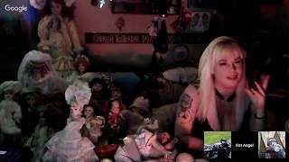 Haunted dolls  and artifacts available for YOU LIVE STREAM showing you each individually