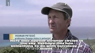 Πολύ περίεργο!Μυστηριώδεις κύκλοι στη θάλασσα της Κροατίας! Το HAARP σε ...λειτουργία;;