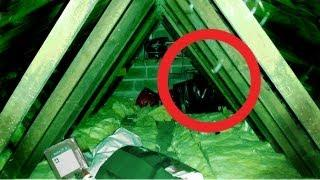 Real Poltergeist Caught On Tape In Attic. More Poltergeist Footage