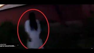 A real ghost caught on tape Paranormal caught on camera