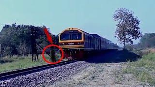Eerie Tracks CCTV Footage!! Ghost Videos 2018