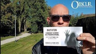 Concours OBSCUR - Place à gagner grande soirée du paranormal 21 septembre (lille)