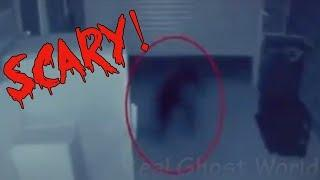 Scary Crawling Shadow Caught on Security Footage
