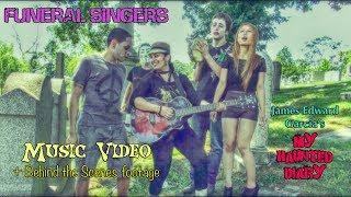 Campy Cemetery Halloween Music Video, Funeral Singers Song My Haunted Diary