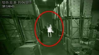 Obsessive Girl Ghost Caught On Camera In A Factory!!
