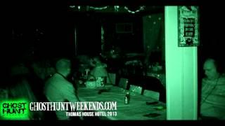 Ghost Child Voice - Ghost Hunt Weekends at the Thomas House Hotel