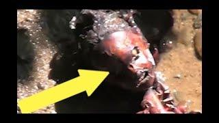 Homunculus Fish women monster filmed and spotted in real life.