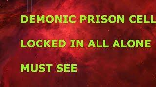 (MUST SEE) LOCKED IN DEMONIC PRISON CELL ALONE