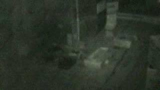 dddavids Ghost Cam. Small orb caught on tape. Paranormal Vlog.