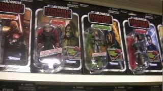 Star Wars Vintage Action Figures Collection 2012