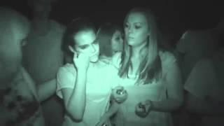 Ghost Hunting! Paranormal activity caught on video at a cemetery.