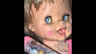 Haunted Doll #12 Saucy Doll, Eyes will move on their own with out moving the arm