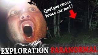 UN ESPRIT ME COURT APRÈS DANS UNE FORÊT HANTÉE ? (Chasseur de Fantômes) Exploration Nocturne Urbex