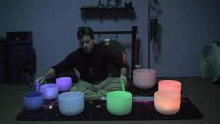 Crystal Singing Bowl Meditation  by Chuck -  Intention:  Love