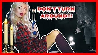 DON'T LOOK BEHIND YOU! Scary Paranormal GAME/Ritual you should NOT Play Alone