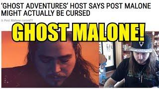 IS POST MALONE CURSED BY A DYBBUK AFTER BEING ON GHOST ADVENTURES?!