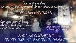 HALLOWEEN LIVE SPECIAL COMING SOON NOT TO BE MISSED