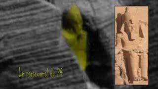 statue du temple de Ramsès II sur Mars