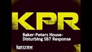 Baker-Peters House- Disturbing SB7 Response