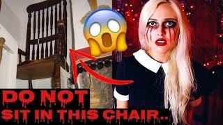 THE CURSED CHAIR! Scariest Cursed Item