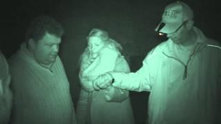 Fort Amherst ghost hunt - 21st March 2015 - Group 2 Séance